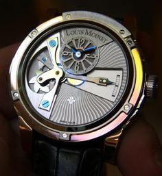 Louis Moinet Tempograph 10 Second Retrograde Watch Hands-On