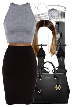 """""""Tink / Million"""" by nasiaamiraaa ❤ liked on Polyvore featuring Bling Jewelry, Michael Kors, Maison Margiela, River Island, Gucci, Yves Saint Laurent, MICHAEL Michael Kors, T By Alexander Wang and NanaOutfits"""