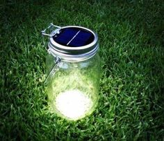 I recently received my very own uber chic Solar Jar from Consol and I´m finding so many uses for it! The Solar Jar harnesses the power of the sun to provide a lovely warm glow that lasts up to six hours. Jar Lights, Bottle Lights, Buy And Sell Cars, Micro House, Tiny House, Green Gifts, Jar Lamp, Outdoor Fire, Glass Jars