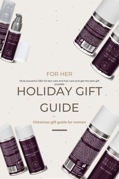 Looking for the best gift guide for her? Look no more because beauty orgazm has the solution for you. Shop powerful all natural cbd skin care and hair care products and suprise your loved ones. The perfect gift for christmas holidays is right here. Suprise your best friend, sister, mom or any women with this incredible and new CBD oil all natural and organic skin care and hair care products that will bring revolution to their beauty routine.