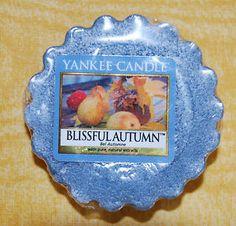 "Yankee Candle Tart ""Blissful Autumn"