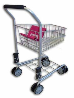The New York Doll Collection Pretend Play Kids Shopping Cart by The New York Doll Collection. $19.99. Pivoting Wheels. Strong Metal Frame. Folding doll seat. From the Manufacturer                Your little customer-in-training can take their very own trip to the market. Sturdy metal construction includes pivoting front wheels and looks just like those in real stores. Folding doll seat. Strong Metal Frame.                                    Product Description              ...