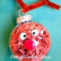 30+Homemade+Ornaments+for+the+Kids