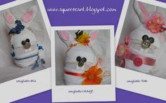 Coniglietti di plastica - artesanum com