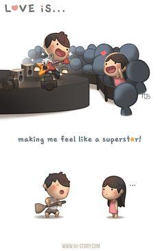 HJ-Story :: Love is... Superstar!