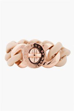 chunky rose gold bracelet Marc by Marc Jacob