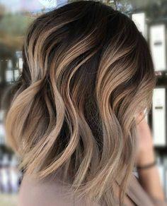 Neutral Carmel Hair Color Ideas for Short Hair