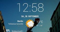 CyanogenMod cLock Home- und Lockscreen-Widget landet im Play Store