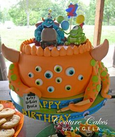 Love this mosters inc. cake