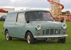 Immaculate Morris Mini Van.