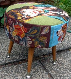Robyne Melia is Bobby La: New Old Footstool