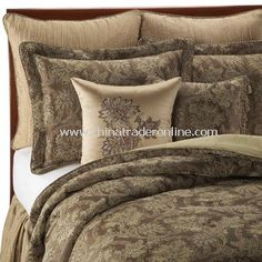 BROWN paisley comforter - Google Search