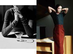 Mariacarla Boscono by Zoe Ghertner for Hermès Fall 2013 Catalog
