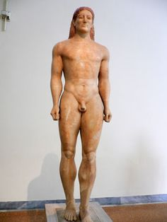 One of the Kouros statues. Found these after read Abby Greens book The Kouros Marriage/Merger