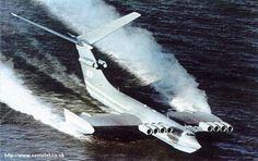 Ekranoplan - Caspian Sea Monster