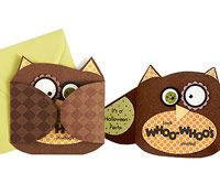 Owl Invitation for Kids' Halloween Party