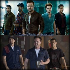 "Rami Malek, Aaron Paul, Ramon Rodriguez, Scott Mescudi and Harrison Gilbertson The Guys from the movie ""Need for Speed""  Great and nice actors!!"