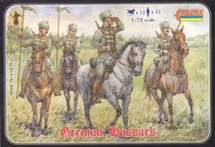 WWI German Hussars