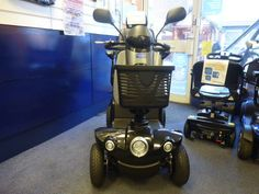 Vanos Sportrek 8 mph mobility scooter swivel seat pneumatic tyres