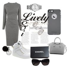 """""""lik"""" by ticysims030225 on Polyvore featuring Whistles, Moschino, Givenchy, OtterBox, Topshop, Calvin Klein, Chanel, women's clothing, women and female"""
