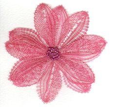 Doily Art, Lace Art, Bobbin Lacemaking, Lace Jewelry, Needle Lace, Lace Making, Lace Flowers, Irish Crochet, Textile Art