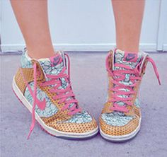 Super cute. nike shoes in any style you want. check it out!