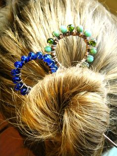 Beaded Hair Stick by ElizabellaDesign on Etsy, $12.00