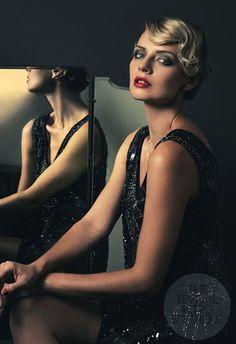 Gatsby dramatic make up