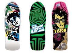 I miss my Vision Street Wear Psycho Stick board