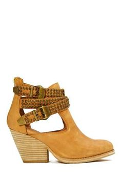 Jeffrey Campbell Watson Bootie - Tan | Shop Jeffrey Campbell at Nasty Gal
