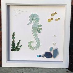 Broken Glass art Turtle - Glass art Drawing Beautiful - - Broken Glass art China Plates - Stained Glass art How To Make Sea Glass Crafts, Sea Crafts, Sea Glass Art, Stained Glass Art, Fused Glass, Seashell Art, Seashell Crafts, Seahorse Art, Seahorses