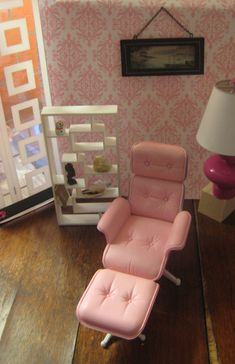 BARBIE EAMES chair by More2view, via Flickr 1:6th Scale