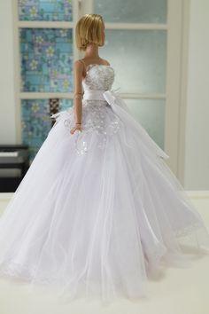 Bridal Wedding Suit Outfit for Tyler Sydney Tonner Doll V780 | eBay