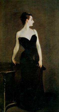 John Singer Sargent (1856-1925) - Madame X (Madame Pierre Gautreau), 1884