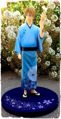 #Banpresto figure ofNatori Shuuichi from #NatsumesBookofFriends.