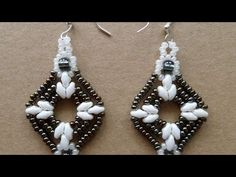 How To Make Sparkling Beaded Earrings - DIY Style Tutorial - Guidecentral - YouTube