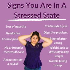 It's common to think that if you don't 'feel stressed' then your body can't be in a stressed state. But what most people don't realise is that just because you may not have had a stressful day at work or you don't have any imminent deadlines etc, you can't be in a fight or flight mode/in a stressed out state. Stress isn't just your usual everyday running late for work, studying for exams. There are so many forms of stress that you may not even be aware that you are chronically exposed to.