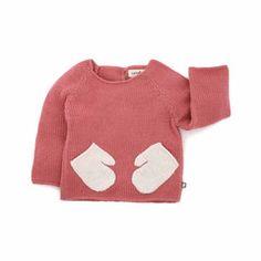 "Oeuf NYC Sweater aus Babyalpaka ""Hug Me"" Pink"