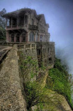 That awkward moment when you realize you used to pass by this a lot in Colombia. Never knew it was haunted, I woulda gone inside!
