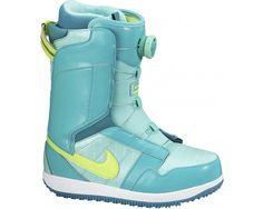 New Nike SB Women's Vapen x Boa Snowboard Boots Jade Volt Turquoise White #Nike $159.99