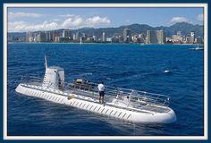 The Atlantis submarine ride on Oahu is a blast!