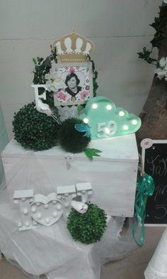 Decoração festa aniversario 59 - atelier katy mota
