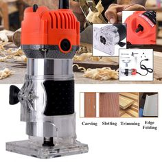 Grtsunsea inch Electric Hand Trimmer Wood Laminator Router Joiners Tools for wooden processing, cabinet processing, handicraft Wrench Tool, Wood Trim, Wood Laminate, Kitchen Aid Mixer, Wood Veneer, Tool Set, Woodworking, Garden, Garten