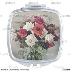 Bouquet Of Roses Makeup Mirror