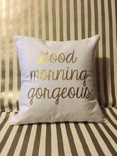 Add these cute pillow cases to any bedroom or give them as a gift. - Pillow case only - Measures 16 by 16 inches - Envelope style pillow case My New Room, My Room, Dorm Room, Cute Pillows, Bed Pillows, Good Morning Gorgeous, Welcome To My House, Pillow Inspiration, Holiday List