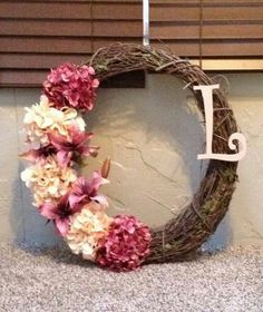 My (APRIL) wreath.