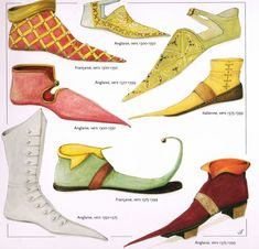 "1300-1399-""Chaussures""- John Peacock"
