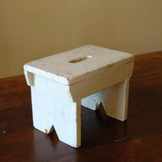 Antique Step Stool // Little Riser by 86home on Etsy, $72.00