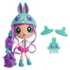 Kawaii Crush Sunny Bunny Hop Hop Large Doll (Have her) :) Shopkins Characters, Cute Characters, Kawaii Crush, Moshi Monsters, Doll Games, Kawaii Diy, Doll Divine, Pop Dolls, Kids Board