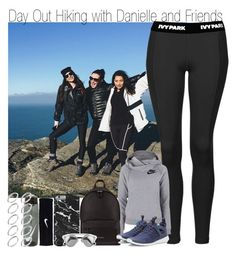 """""""Day Out Hiking with Danielle and Friends"""" by elise-22 ❤ liked on Polyvore featuring Topshop, NIKE, Givenchy and ASOS"""